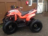 Aeon revo 100cc rev and go kids quad bike