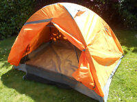 Two man tent - brand new, never used.