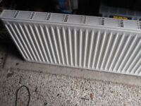 Central heating double radiator 500mm x 1100mm