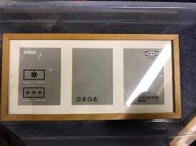 Two Ribba Ikea frames
