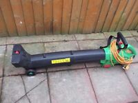 a good working garden vac and blower