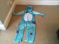 Kids Sully fancy dress costume