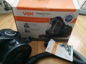 Vax powerstretch pet bagless cylinder vacuum