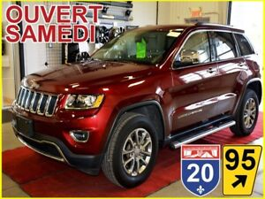 2016 Jeep Grand Cherokee LIMITED * AWD * ÉCRAN 8.4 * GPS * CUIR
