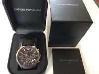 LOVELY EMPORIO ARMANI AR2447 CHRONOGRAPH GENTS WATCH COST £259.99 SELLING FOR £185