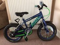Boys Raleigh 14 inch Football Bike Good Condition