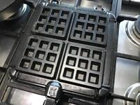 Nordic ware stove top waffle maker