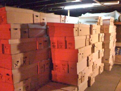 1 box lot: 75 OLD COMICS MARVEL DC SPIDERMAN superman +