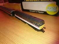 Graham farish Bachmann class 47 inter city firefly with coaches n gauge model railway train set