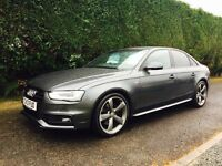 2013 Audi A4 s line black edition finance available
