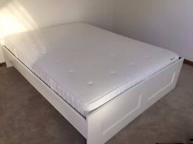 Double bed and frame for sale