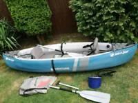 Sevylor Adventure 2 seater infatable kayak