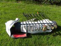 Mens and Womens golf sets + free Browning bag.