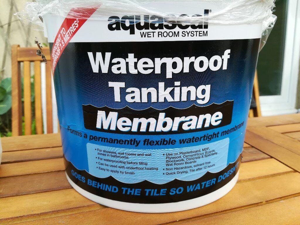Aquaseal WET ROOM SYSTEM | Waterproofing Tanking Kit | Shower ...