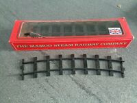 Mamod / MSS railway track, new and boxed.
