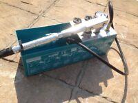 Water pressure tester