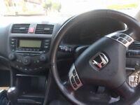 Honda accord 2.0 petrol 2004 v-tec 156 hpi