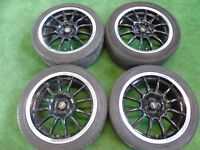 "TEAM DYNAMICS MOTORSPORT 16"" ALLOY WHEELS TO FIT NISSAN MICRA 2003-"