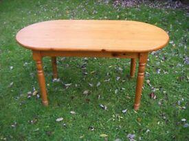 STURDY PINE KITCHEN TABLE