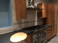 Kitchen with range cooker for sale