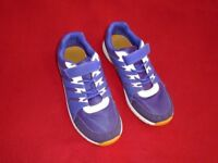 Girls or boys Clarks trainers size 4 and a half E