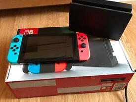 Nintendo switch 32gb neon