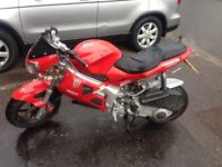 2003 Gilera DNA 125cc (Logbook, 1 year MOT, 2 keys)