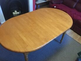 Wooden Extendable Dining Table - scratch free
