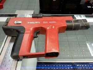 hilti Piston Actuated Nail Gun. (#43179)