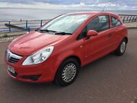 VAUXHALL CORSA LIFE 1.0 PETROL RED 2007 ON 57 REG 73745 MILES CAT C REPAIRED PX WELCOME