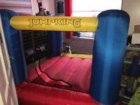 Jump king bouncy castle