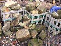 Rockery stone boulders ideal for garden features