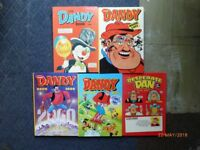 Dandy and Desperate Dan Annuals.