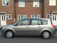 2007 RENAULT GRAND SCENIC DYNAMIQUE DCI FAP 1.9 DIESEL 7 SEATER FSH ONE FORMER KEEPER LOW MILEAGE