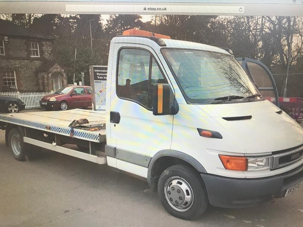 Iveco Ford Daily breakdown / recovery truck car transporter   in ...