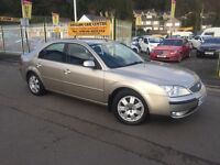FORD MONDEO 2.0 TDCi SIII Zetec 5dr (gold) 2005