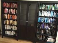 Ikea HEMNES Bookcase & Display Cabinet excellent condition
