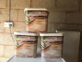 Romex easy patio pointing X3 tubs natural colour.