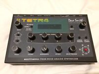 Dave Smith (DSI) Tetra / TETR4 - analogue polysynth