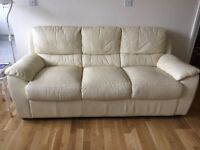 A good condition leather sofa