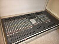 Allen & Heath SC Series 24 Channel Analog Mixer with flight case