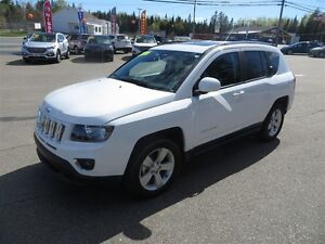 2016 Jeep Compass HIGH ALTITUDE 4X4, LEATHER, SUNROOF!!