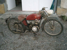 Pre war Classic Motorcycle, Monet Goyon S3G, a very usable 1938 Classic Bike