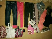 Assorted girls clothes ages 6-9