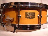 "Tama AW 645 Artwood BEM Pat 30 Gladstone snare drum - 14 x 5 1/2"" - 3-way tuning - Japan - 80's"