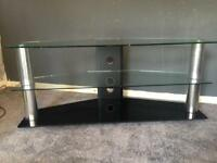 Large television stand