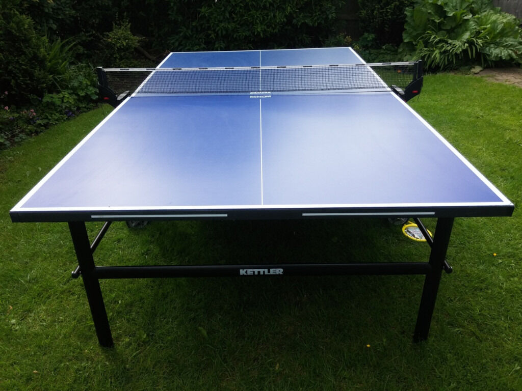 Kettler outdoor table tennis table ping pong aluminium in sprotbrough south yorkshire gumtree - Gumtree table tennis table ...