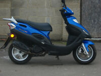 kymco Movie 125 scooter 2007, 17k miles, one owner excellent cond new mot