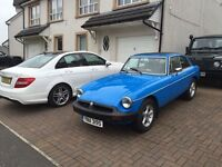 1978 MGB GT 1.8, ONLY 21000 MILES, WEBASTO ROOF & OVERDRIVE APPRECIATING CLASSIC