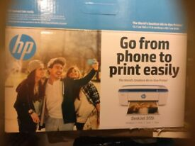 hp printer all in one copy print scan boxed instructions